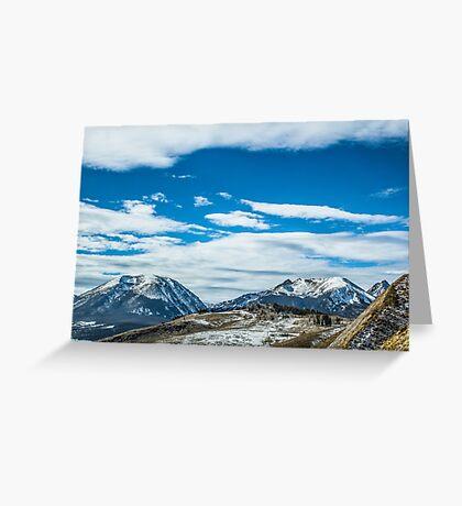 The Majestic Rockies Greeting Card