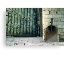 24.12.2012: Shovel Canvas Print