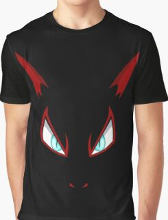 Pokemon - Zoroark Face Graphic T-Shirt