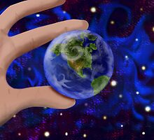 The world at my fingertips by ahni mazybolton