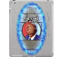 The Cake Is... A Spy?!? iPad Case/Skin