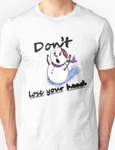 Holiday Horror Snowman 2 Unisex T-Shirt