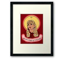 St. Laura Framed Print