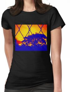 Wire Tree Afternoon Womens Fitted T-Shirt