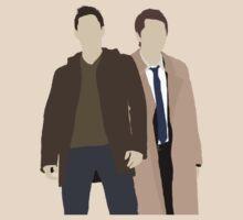 Alt Destiel (Dean and Cas) minimalist t-shirt/sticker by Hrern1313