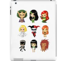 Chibi Villainesses iPad Case/Skin