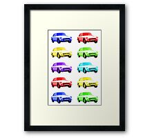 MGB GT Sports Cars Framed Print