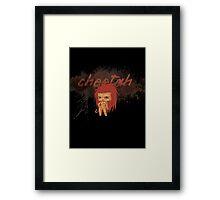 Chibi Cheetah Framed Print