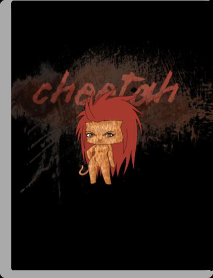 Chibi Cheetah by artwaste