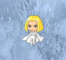 Chibi Emma Frost by artwaste