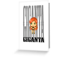 Chibi Giganta Greeting Card