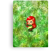 Chibi Poison Ivy 2 Canvas Print