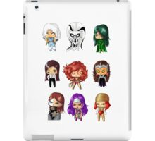 Chibi Villainesses 2 iPad Case/Skin