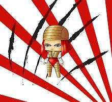 Chibi Lady Deathstryke by artwaste