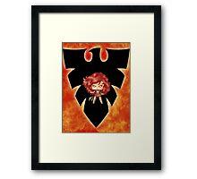 Chibi Dark Phoenix Framed Print