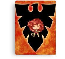 Chibi Dark Phoenix Canvas Print