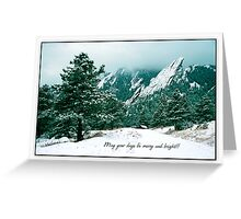 May Your Days Be Merry And Bright Greeting Card