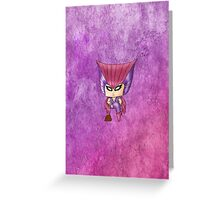 Chibi Deathbird Greeting Card