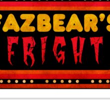 Five Nights at Freddy's - FNAF 3 - Fazbear's Fright Security Sticker