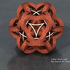 Celtic Knot Cube by David M. Voutsinas