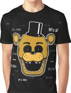 Five Nights at Freddy's - FNAF - Golden Freddy - It's Me Graphic T-Shirt