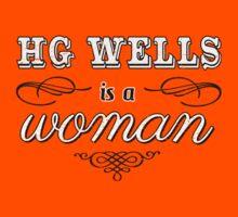 HG Wells is a woman by pertlattimers
