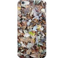Leafy vibes  iPhone Case/Skin