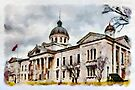 County Court House - watercolour by PhotosByHealy