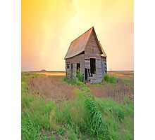Sunset On The Land,......Oklahoma Photographic Print