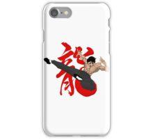 The Dragon Kick iPhone Case/Skin