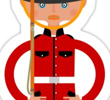British Bearskin Cap Guard Sticker