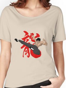 The Dragon Kick Women's Relaxed Fit T-Shirt