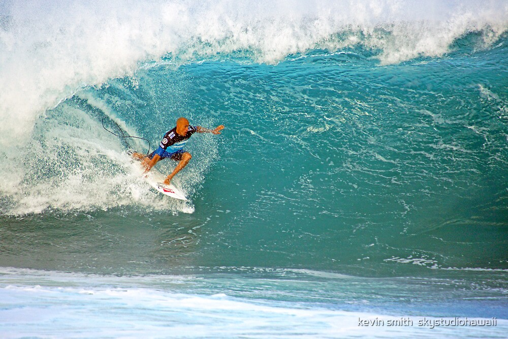 Kelly Slater's Pipe by kevin smith  skystudiohawaii