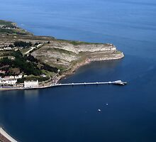 Llandudno Pier North Wales  by John Maxwell