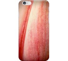 Red And White Lily Petal iPhone Case/Skin