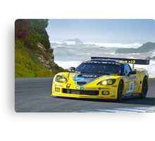 2007 Corvette Racing Canvas Print