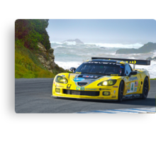 2007 Corvette Racing Canvas Print