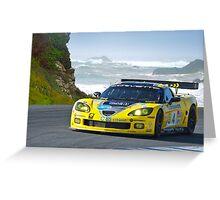 2007 Corvette Racing Greeting Card