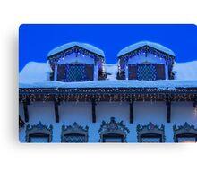 Christmas in Leavenworth at Twilight Canvas Print