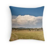 Toogoolawah Plains Throw Pillow