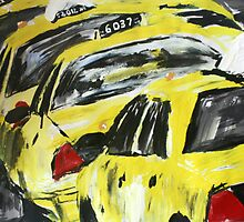 New York Taxis - Wall Art by JamesPeart