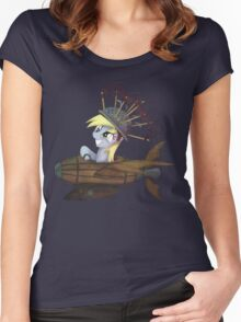 My Little Pony - MLP - Derpy Hooves Women's Fitted Scoop T-Shirt