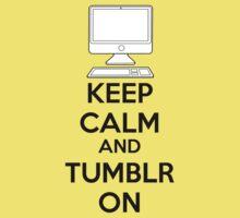 Keep calm and Tumblr on One Piece - Short Sleeve