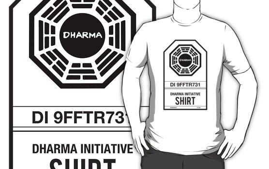 DHARMA Initiative T-Shirt by William Thieme