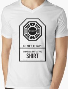 DHARMA Initiative T-Shirt Mens V-Neck T-Shirt