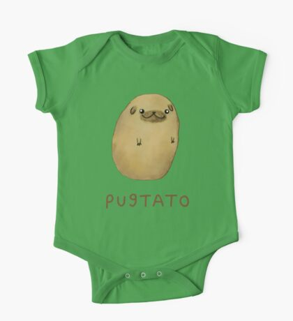 Pugtato One Piece - Short Sleeve