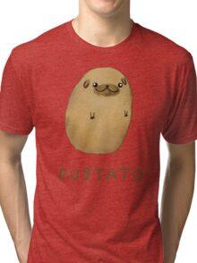 Pugtato Tri-blend T-Shirt
