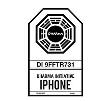 DHARMA Initiative iPhone by William Thieme