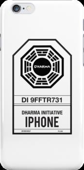 DHARMA Initiative iPhone by William Thieme