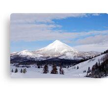 Rocky Mountains USA Canvas Print